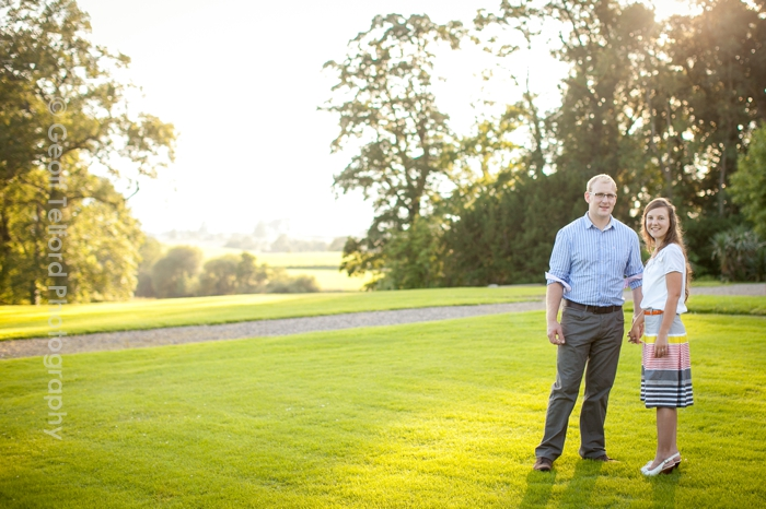 Andrew & Louise's Pre Wedding Shoot - The Argory - Geoff Telford Photography