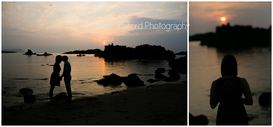 David & Sarah - Engagement - Ballintoy Harbour - Professional Wedding & Portrait Photography, Northern Ireland