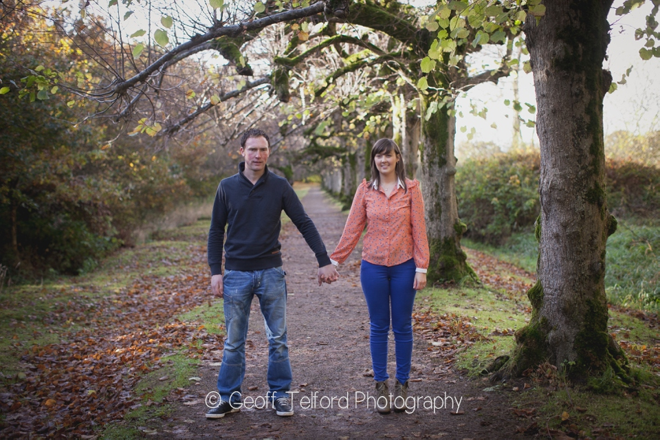 Denver and Leanne's Engagement - The Argory - Professional Engagement/Wedding Photography, Northern Ireland