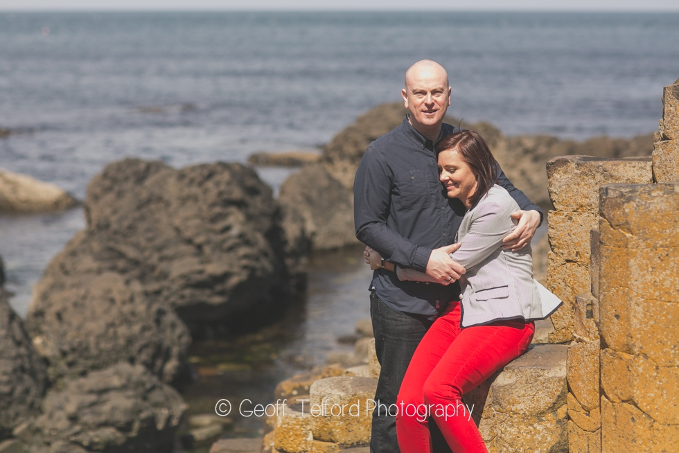 Tim & Nicola Engagement Photography - The Giants Causeway - Engagement Photography in Northern Ireland